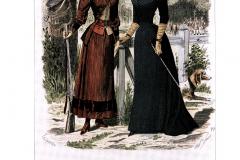 Suknia historyczna do jazdy konnej - Myśliczek