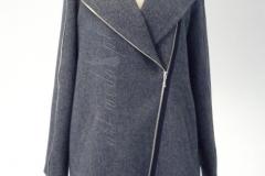 Płaszcz z zamkami 1