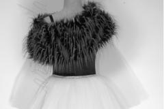 Sukienka jezioro łabędzie