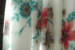 Sukienka mgiełka - w kwiaty
