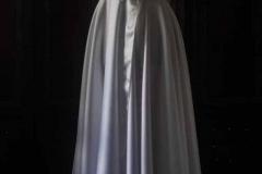 Sukienka ślubna z szarfą