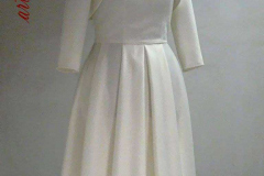 Suknia ślubna z bolerkiem