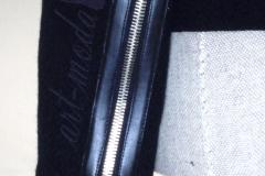 żakiet z zamkami